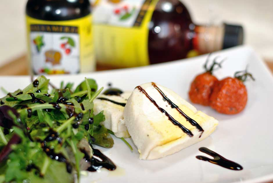 Cheese and Balsamico sandwich